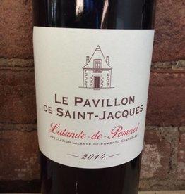 2014 Le Pavillon de St. Jaques Lalande de Pomerol,750ml