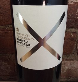 "2015 Chateau Massereau ""Cuvee X"" Bordeaux Rouge,750ml"