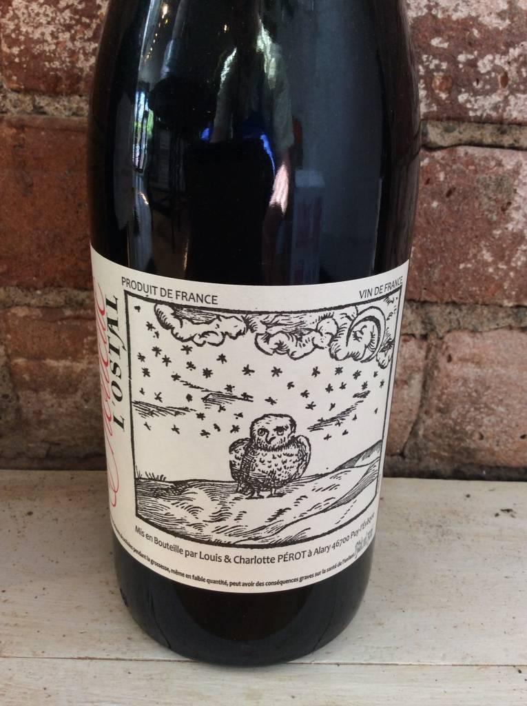 """2015 L'ostal """"Chouette"""" Vin de France Rouge,750ml"""
