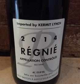 2014 Domaine Guy Breton Regnie,750ml