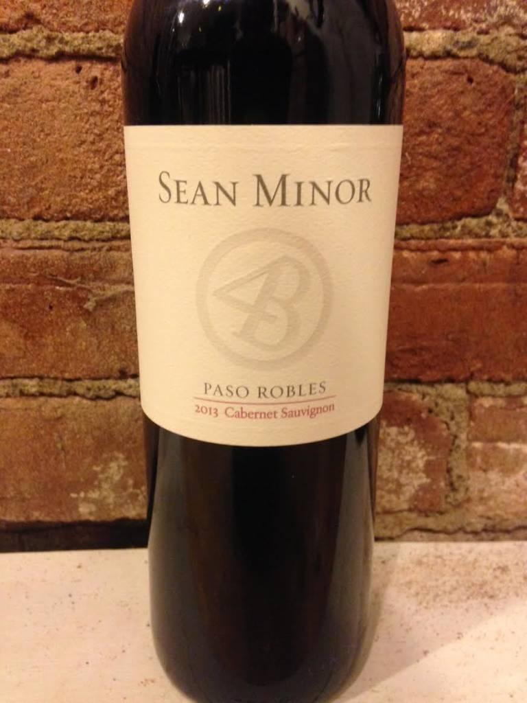 2014 Sean Minor Cabernet Sauvignon Paso Robles, 750ml
