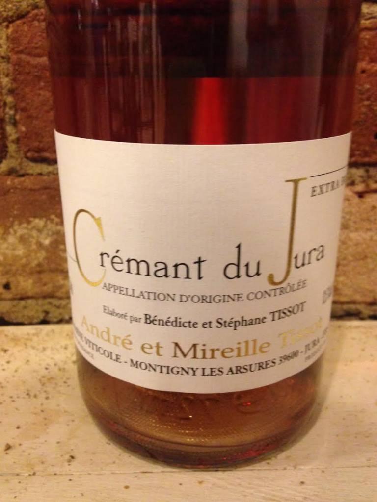 NV Domaine Tissot Cremant du Jura Rose, 750ml