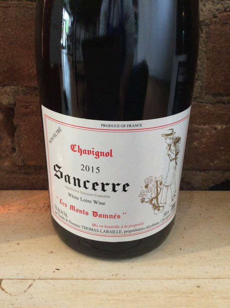 "2015 Thomas-Labaille Sancerre ""Mont Damnes"", 750ml"