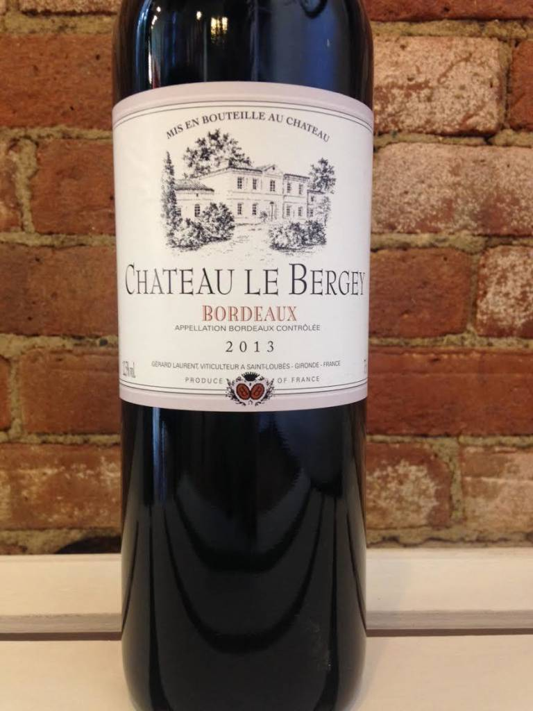 2016 Chateau Le Bergey Bordeaux Rouge, 750ml