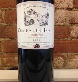 2015 Chateau Le Bergey Bordeaux Rouge, 750ml