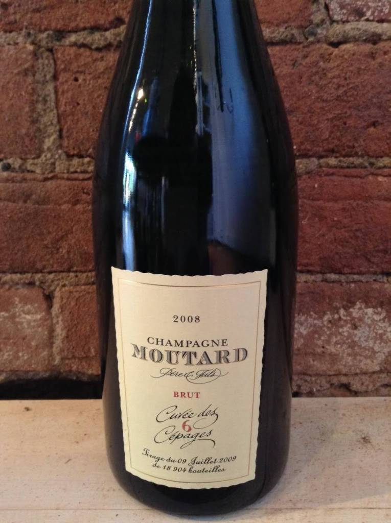 2008 Moutard 6 Cepages Brut Champagne,750ml