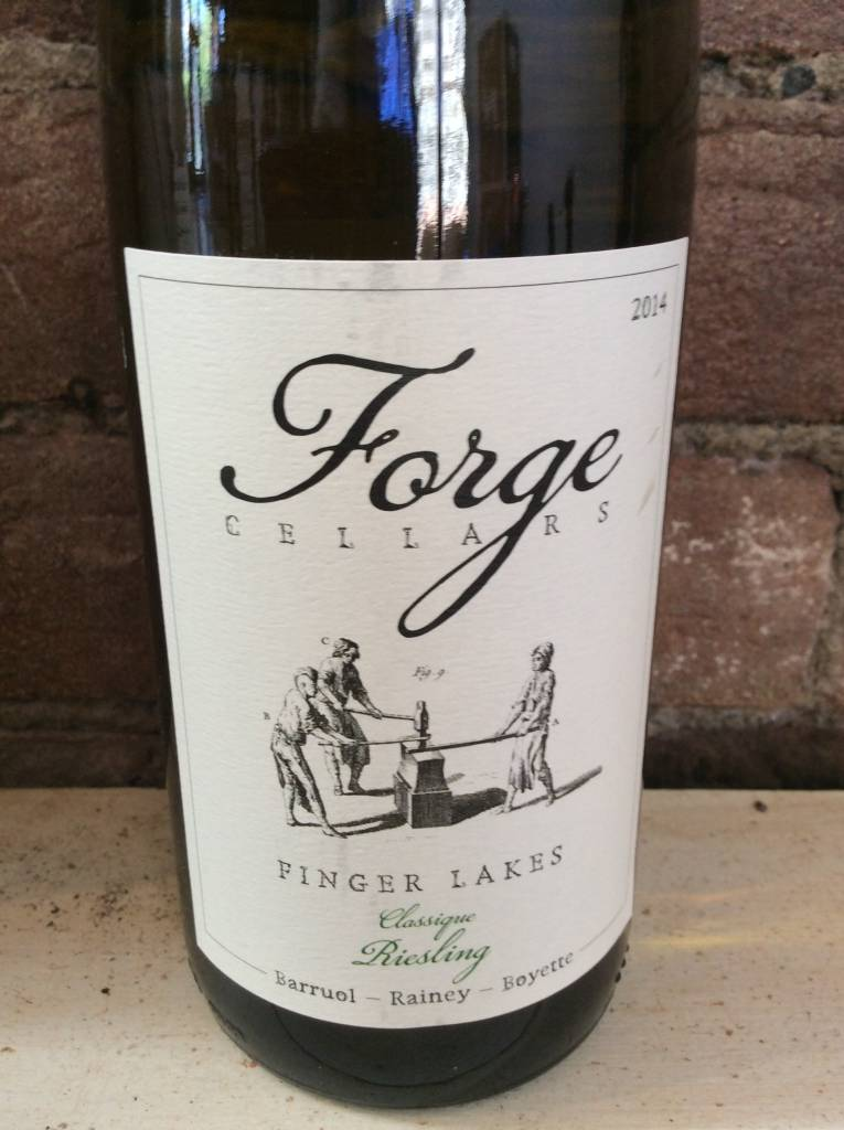 2014 Forge Cellars Riesling Classique Finger Lakes,750ml