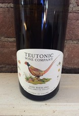 2016 Teutonic Wine Co. Wilamette Valley Riesling,750ml