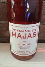 """2016 Domaine de Majas Cotes Catalanes Rose """"L'AMOUROUSE"""",750ML"""