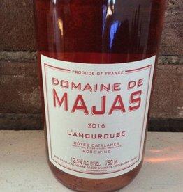 """2017 Domaine de Majas Cotes Catalanes Rose """"L'Amourouse"""",750ML"""