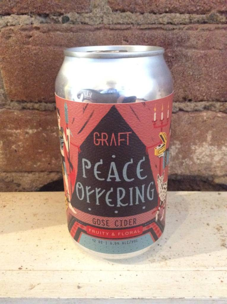 Graft Peace Offering Gose Cider, 12oz Can