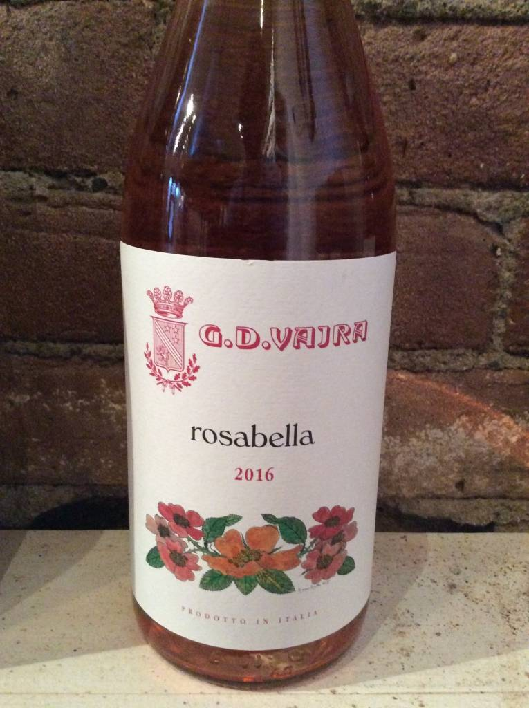 "2016 Vajra ""Rosabella"" Rose, 750ml"