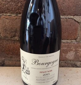 2016 Domaine Moutard-Diligent Bourgogne Rouge,750ml