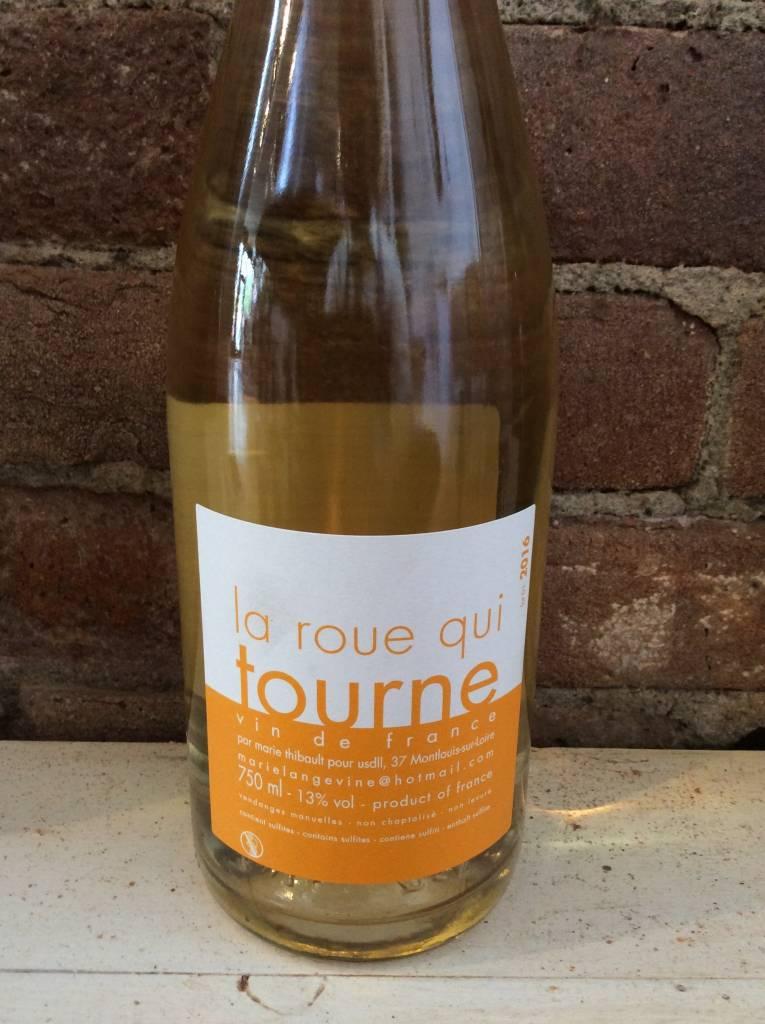 2016 Marie Thibault Rou Qui Tourne Blanc Pet-Nat,750ml