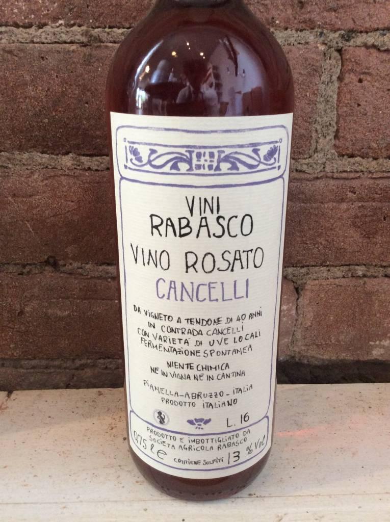 2016 Rabasco Cancelli Abruzzo Rosato,750ml