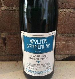 2015 Weiser-Kunstler Wolfer Sonnenlay Riesling Kabinett,750ml
