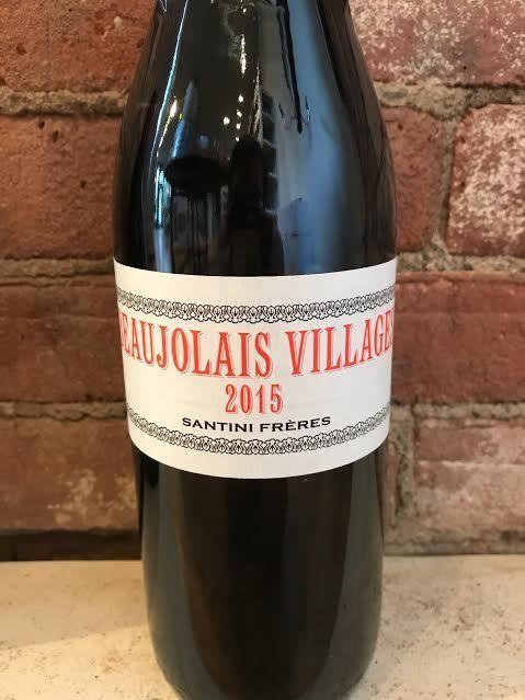 2015 Santini Freres Beaujolais Villages, 750ml