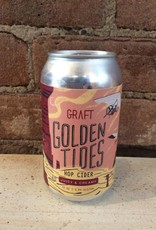 """Graft """"Golden Tides"""" Cider, 12 oz CAN"""