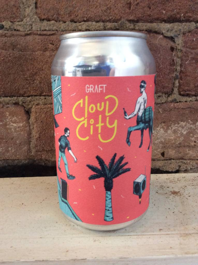 "Graft Cloud City ""Fuchsia District"" Cider, 12oz can"
