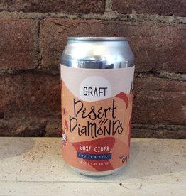 "Graft ""Desert Diamonds"" Gose Cider, 12oz Can"