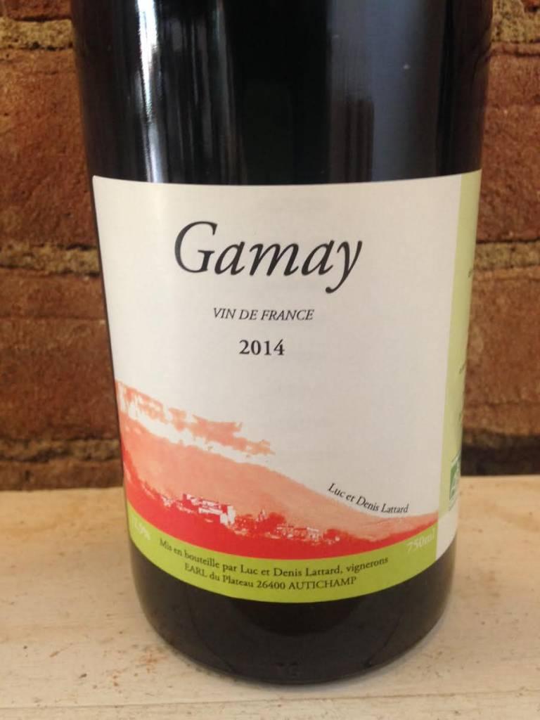 2016 Domaine Lattard VDF Gamay,750ml