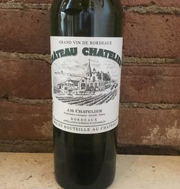 2016 Chateau Chatelier Bordeaux Blanc, 750ml