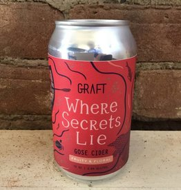 "Graft ""Where Secrets Lie"" Gose Cider, 12oz Can"