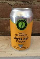 "Urban Farm Fermentory ""Super Dry"" Cidah, 750ml"