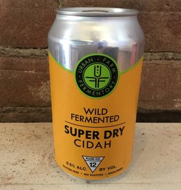"Urban Farm Fermentory ""Super Dry"" Cidah, 750ml"