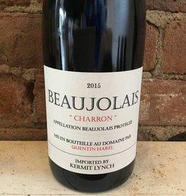 """2015 Quentin Harel Beaujolais """"Charron"""", 2015"""
