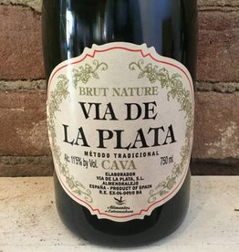 NV Via de la Plata Cava Brut Nature, 750ml