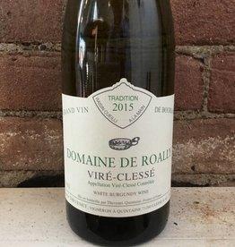 2015 Domaine de Roally Vire-Clesse, 750ml