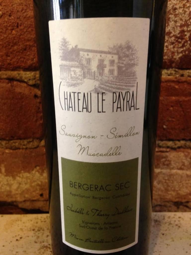 2016 Chateau Payral Bergerac Blanc, 750ml