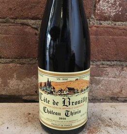 2016 Chateau Thivin Cote de Brouilly,375ml