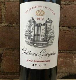 2012 Chateau Graysac Medoc Cru Bourgois, 750ml