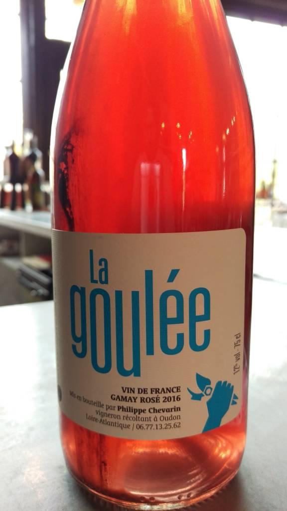 2016 Philippe Chevarin La Goulee VDF Gamay Rose, 750ml