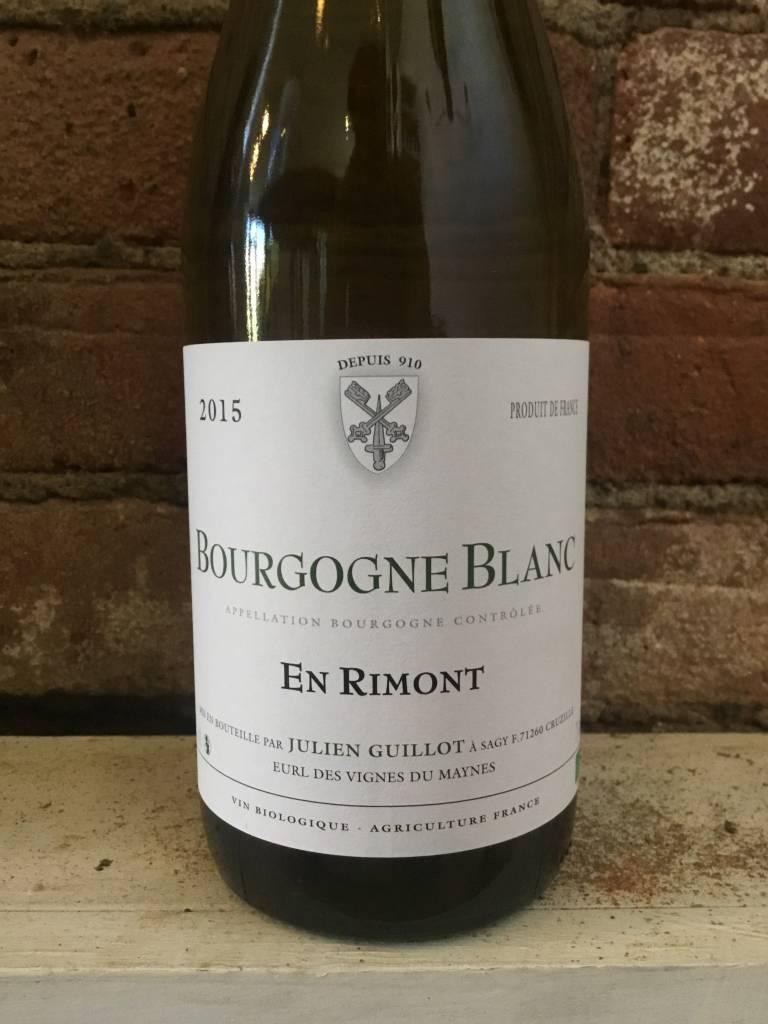 2015 Julien Guillot Clos des Vignes du Maynes Bourgogne Blanc En Rimont,750ml