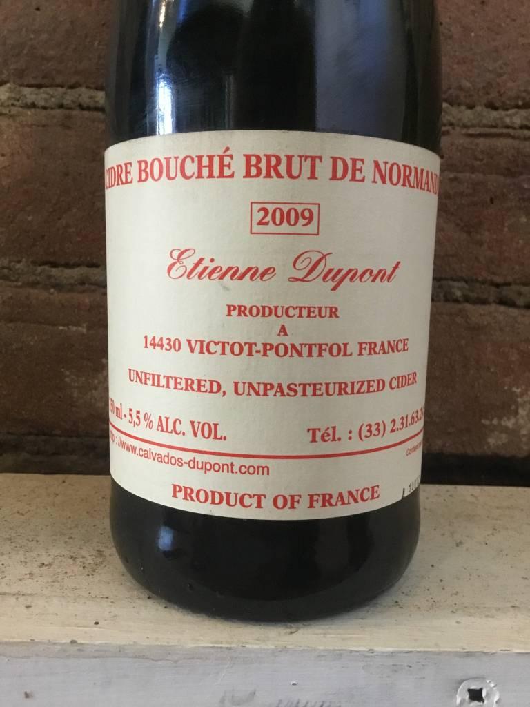 2009 Dupont Cidre Bouche Brut de Normandie, 750ml