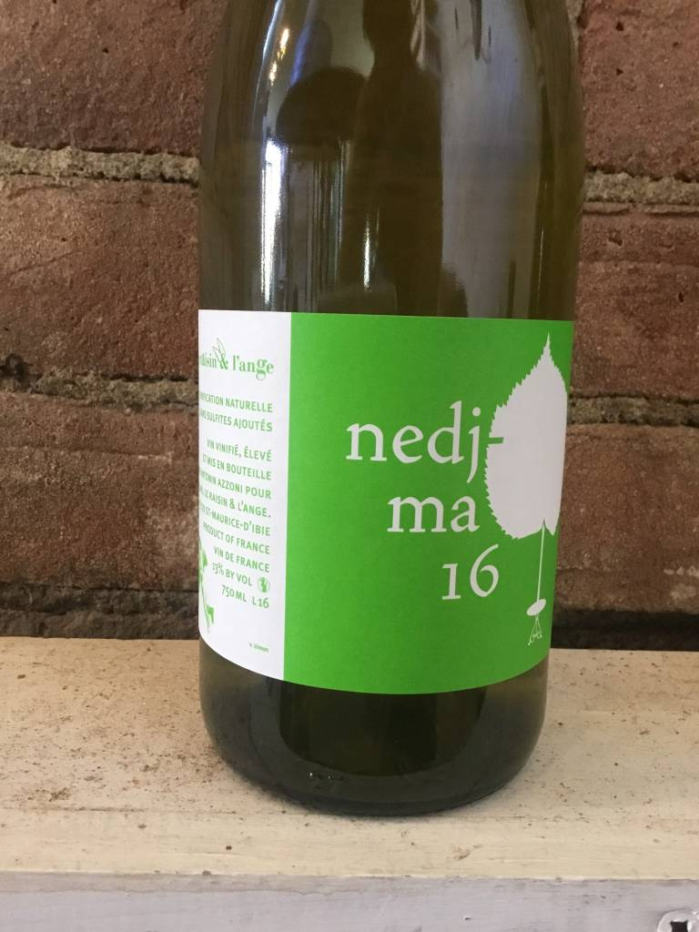 2016 Le Raisin et L'Ange Nedjma VDF Blanc,750ml