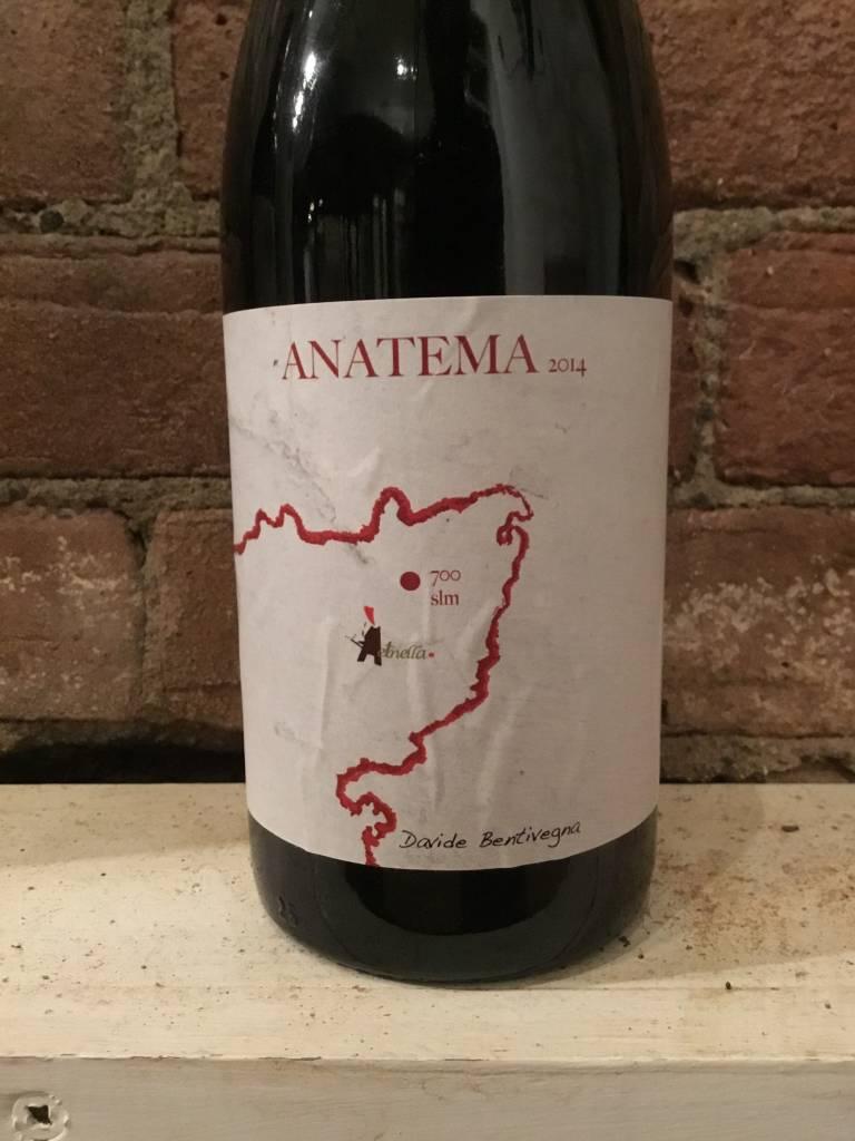 "2014 Davide Bentivegna ""Anatema"" Rosso, 750ml"
