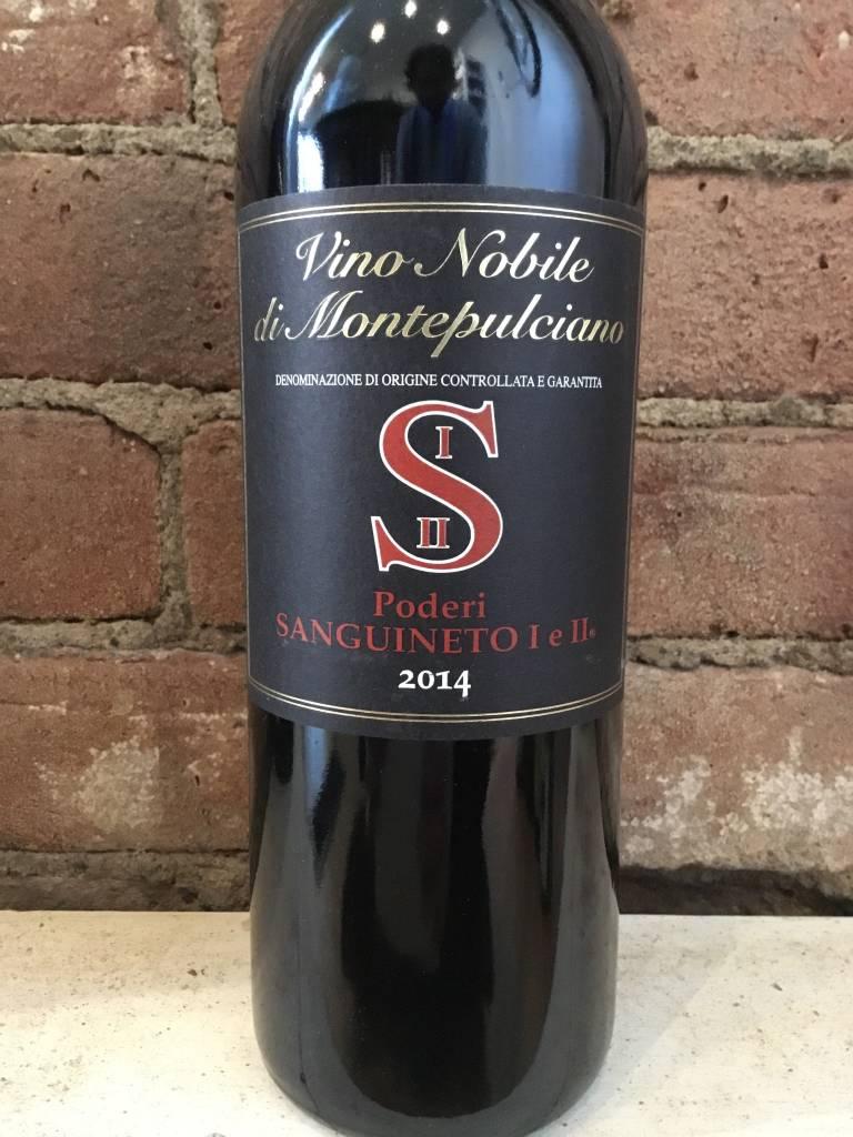 2014 Poderi Sanguineto Vino Nobile di Montepulciano, 750ml
