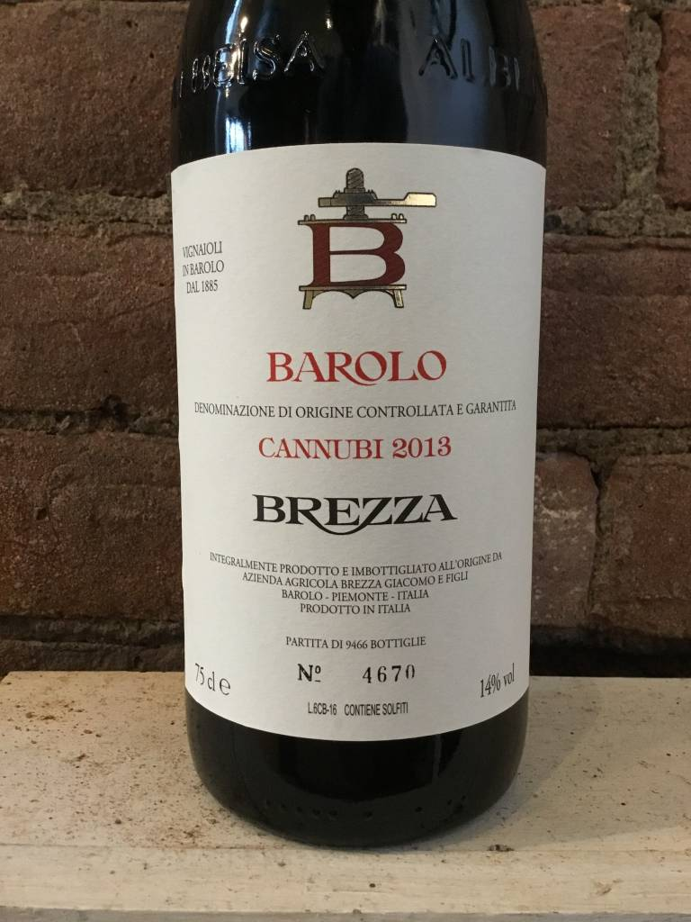 2013 Brezza Barolo Cannubi, 750ml