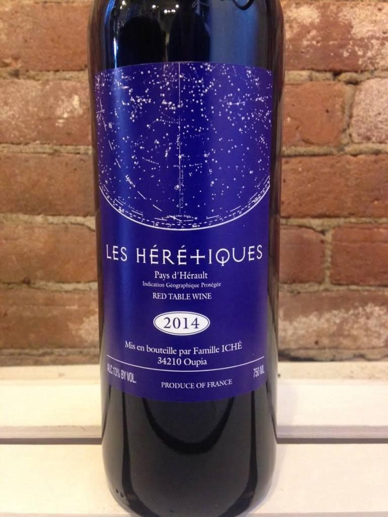 "2017 Chateau Oupia ""Les Heretiques"" VDP Rouge, 750ml"