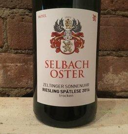 2016 Selbach-Oster Zeltinger Sonnenuhr Riesling Spatlese Trocken, 750ml