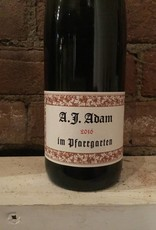 """2016 A.J. Adam """"Im Pfarrgarten"""" Riesling Feinherb, 750ml"""