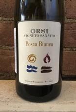"NV Orsi Pignoletto ""Posca"" Bianca, 750ml"