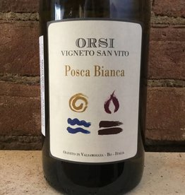 "NV Orsi Pignoletto ""Posca"" Bianca, 750ml"