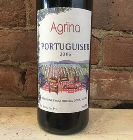 2016 Agrina Doo Fruska Gora Portuguiser, 750ml
