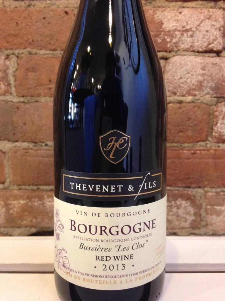 """2016 Thevenet et Fils Bourgogne Rouge """"Le Clos Bussieres"""", 750ml"""