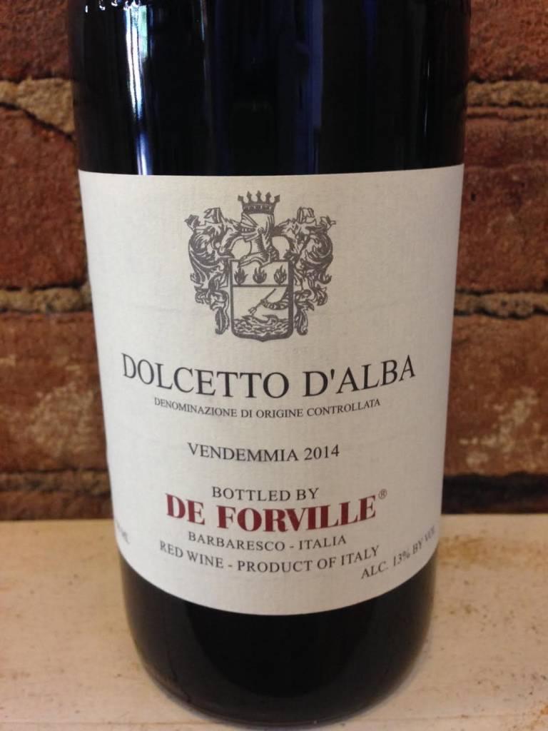 2016 De Forville Dolcetto, 750ml